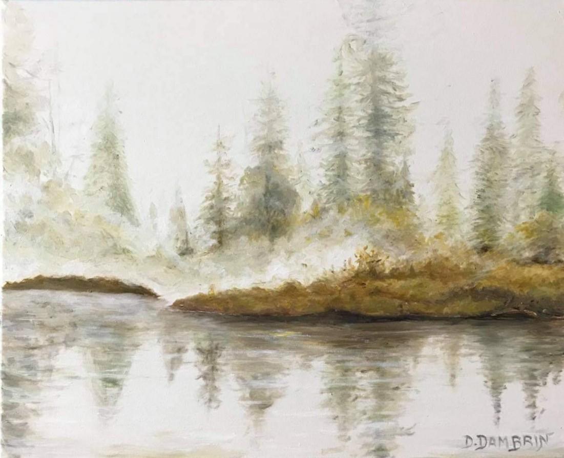 Brume sur rive