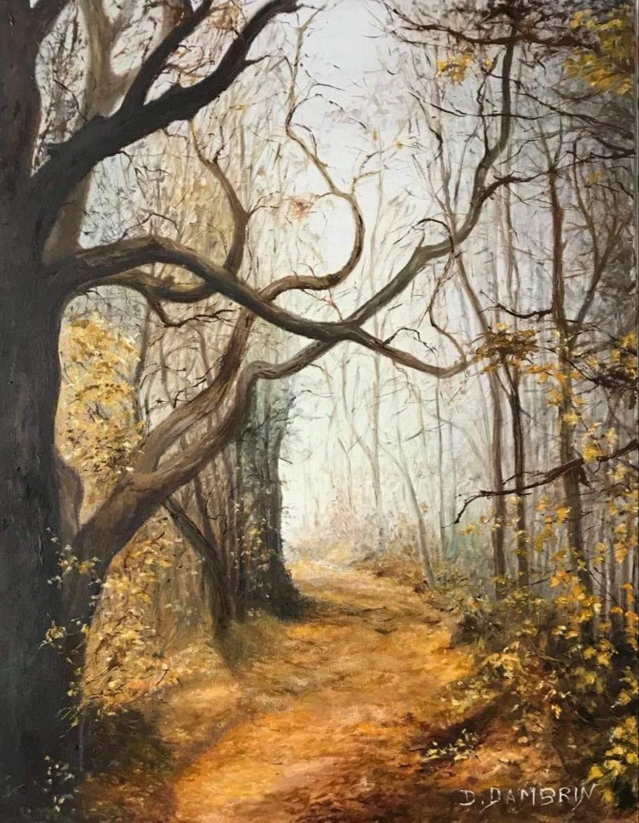 Chemin doré