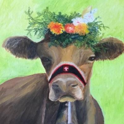 Jeune vache
