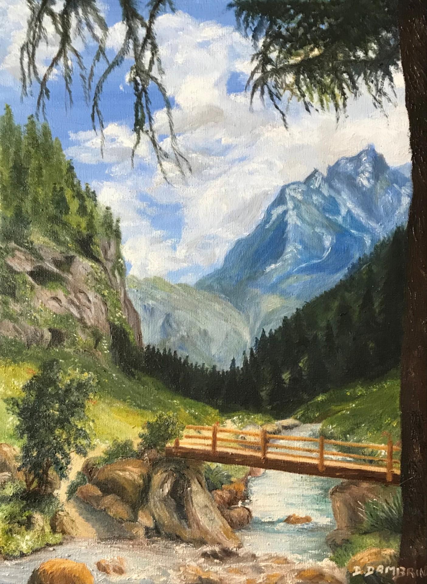 Petit pont de montagne